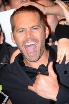 Paul Walker assiste, vendredi 29 avril, à l'avant-première italienne de Fast and Furious 5, à Rome.