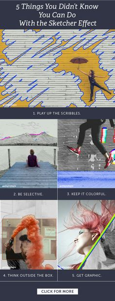 There are a ton of different things you can do with the Sketcher Effect!