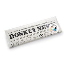 Malzeitung Donkey News – lustiges Malbuch für Kinder in Form einer Zeitung