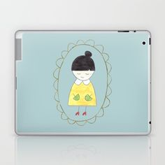 Little Dorothy Laptop & iPad Skin by Unicornlette | Society6