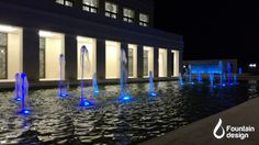 Water Features & Outdoor Water Wall at Armonia Venue Fountain Design, Water Walls, Water Features, Portfolio Design, Marina Bay Sands, Exterior, Building, Outdoor, Interiors