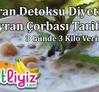 Dr. Ayça Kaya tarafından hazırlanmış, 1 haftada 3.5 kilo verdiren diyet programı !