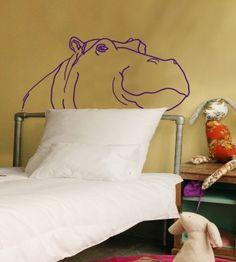 Le sticker « Hippo » de Mimi'lou