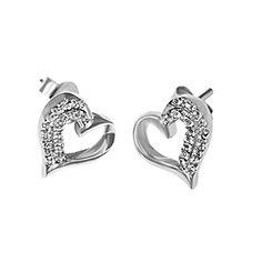 B&E 925 Sterling Silver Heart Earrings. High Quality Cubic Zirconia Diamond Stud Earring-Women-Girl Bright and Elegant Jewelry http://www.amazon.com/dp/B019TDCOHK/ref=cm_sw_r_pi_dp_3OCWwb155FSDY