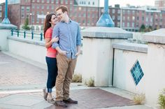 Old City Philadelphia Engagement Session // Alison Dunn Photography