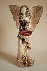 Socha - Anjel Strážny so svietnikom I - 5588883_