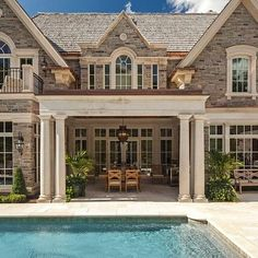 25 Beautiful Stone House Design Ideas on A Budget - Dream - Home -