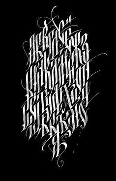 Tattoo fonts typography behance 50 Trendy ideas – Graffiti World Tattoo Lettering Styles, Chicano Lettering, Graffiti Lettering Fonts, Script Lettering, Calligraphy Letters, Typography Letters, Lettering Design, Graffiti Tattoo, Copperplate Calligraphy