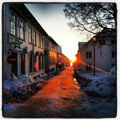 Lillesand, Norway--Grandma's home town