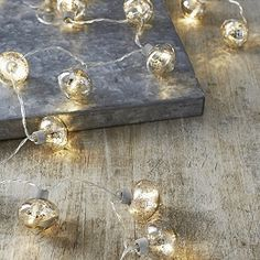 Buy Antique Bauble Lights - 20 Bulbs - from The White Company