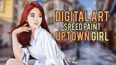 Digital Art Speedpaint - Uptown Girl