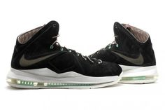 the best attitude 01139 9dbbe nike-lebron-x-ext-qs-black-suede-001 Zapatos