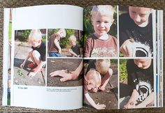 Make yearly Blurb photo books instead of printing out photos.  Add a Family picture to the front!