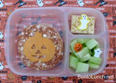 BentoLunch.net - What's for lunch at our house: Simple Halloween Bento