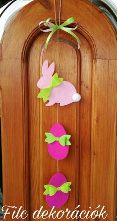 Easter Diy Crafts For Gifts, Fun Crafts For Kids, Easter Cross, Easter Projects, Diy Easter Decorations, Easter Activities, Felt Christmas Ornaments, Easter Wreaths, Valentine Crafts