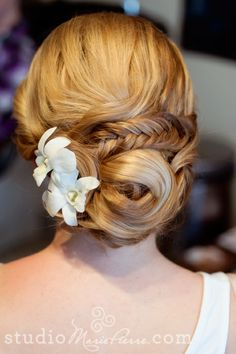 Some Of My Recent Work – Bridal Updo