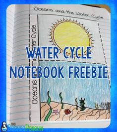 EDUC This would be great for a science journal! 7 Ideas for Teaching the Water Cycle: Oceans and the Water Cycle Notebook Freebie Primary Science, 1st Grade Science, High School Science, Elementary Science, Science Education, Teaching Science, Science Classroom, Physical Science, Classroom Posters