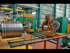 Automatic steel coil packaging line&handling system