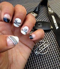 Day 152: Honda Nail Art - Nails Magazine