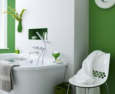How to decorate with two colors 3