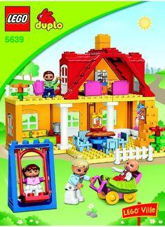 Lego Instructions Family House 5639, Duplo