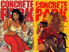 I learned about Concrete Park from Calvin Reid, the pioneering comics critic/reviewer who chaired a panel with Scott McCloud and me at the Miami Book Fair last month; Calvin called it the best new ...