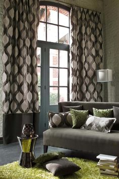 The Winter is here! be ready with beautiful curtains and  matching pillows. http://www.decorteamus.com