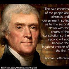 Wisdom from Thomas Jefferson