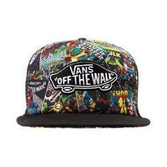 32987976c2d hat marvel superheroes snapback vans of the wall Vans Hats