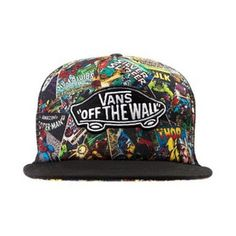hat marvel superheroes snapback vans of the wall Vans Hats ca8e39a5db5
