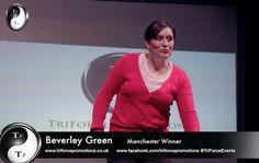 Beverley Green - winner of MonologueSlam UK, Manchester