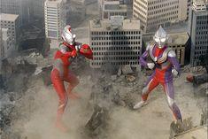Ultraman Tiga, Ultra Series, Earth From Space, Godzilla, Nostalgia, Geek, Japan, Anime, Superhero