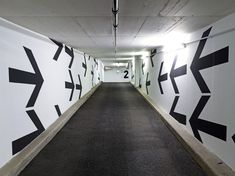 Leitsystem Tiefgarage Hochhaus am Park, Frankfurt am Main /// MMZ Architekten, Sarah Wille