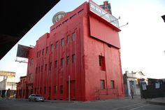 red building.