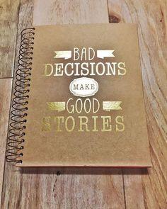 Go ahead. Make a few bad decisions this week.   Found by @blitzandglam!