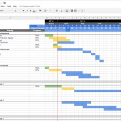 Excel Project Management Template With Gantt Project a part of under Spreadsheet