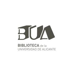 BUA - Library University of Alicante LOGO designed by La Estilo-Grafica www. Logo Desing, Branding Design, Alicante, Book Logo, Picture Logo, Book Aesthetic, Book Of Life, Book Photography, Logo Nasa