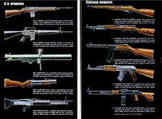 U.S. vs. Vietcong weapon, June 1967 Popular Mechanics