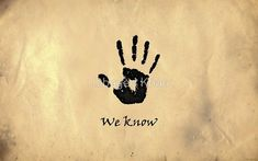 "The Elder Scrolls V: Skyrim - Dark Brotherhood Black Hand ""We Know"" by Obayed Khan"