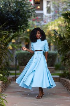 We are doing some maintenance on our site. Diy Maxi Skirt, Dress Skirt, Skirt Outfits, Cool Outfits, Skirt Fashion, Fashion Dresses, Style Pantry, Monochrome Outfit, Handmade Skirts