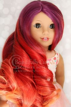 Deluxe Paradise Wig – Sunset (Size 11)