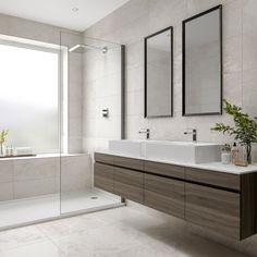 Laguna white stone effect matt wall and floor tile x Bathroom Interior Design, Home, Wall And Floor Tiles, Stone Tile Bathroom, Flooring, Contemporary Bathroom Designs, Large Tile Bathroom, Bathrooms Remodel, White Stone Tiles