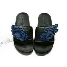 adidas 610 broadway. adidas js wings adilette sandals black blue - store 610 broadway