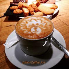 Latte Art- Lion Cappuccino