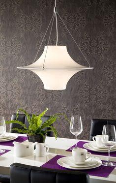 Lokki-kattovalaisin 50 cm. Kotimainen tyylikäs klassikkovalaisin. Design Yki Nummi Decor, Furnishings, Lamp, Light, Lights, Home Decor, Dining Table, Ceiling Lights, Interior Decorating