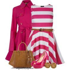 Pink Belted Jacket