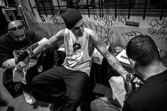 "Tattoo Tuesday - Episode 6. Travis Barker's Tribute Tattoo to Trigz. ""Trigz RIP "". #tattoo"