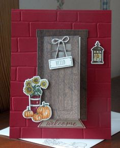 AT HOME WITH YOU CARD: