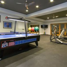 Home Gym Design, Pictures, Remodel, Decor and Ideas - page 12