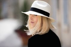 Stylish Anna Sofia (Style plaza) wearing Balmuir hand made hat. www.balmuir.com
